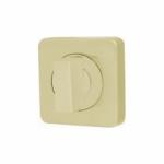 Ручка поворотная WC-BOLT BK6/SQ-21SG-1 матовое золото
